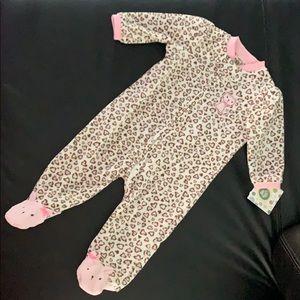 6 Month Old Leopard Onesie